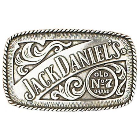 """Jack Daniels Boucle Ceinture  Old No 7 4-1/4"""" x 2-1/2"""""""