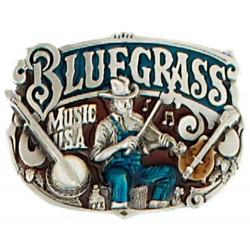Belt Buckle Bluegrass