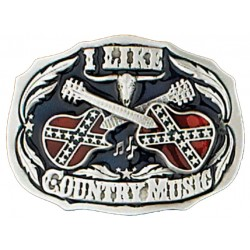 Boucle ceinture I Like Country Music