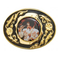 Belt buckle The King