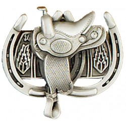 Belt buckle Saddle & Horseshoes
