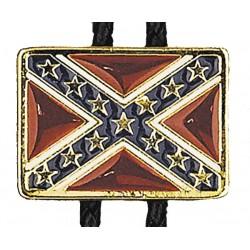 Confederate Flag Bolo Tie