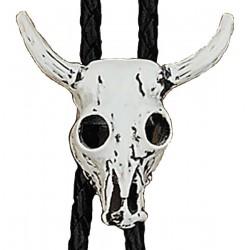 Steer Skull Bolo Tie