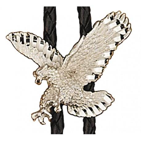 Silver Eagle Bolo Tie