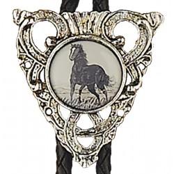 Horse Bolo Tie
