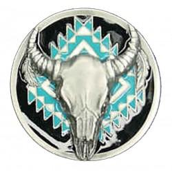 Buffalo Head Indian Bolo Tie
