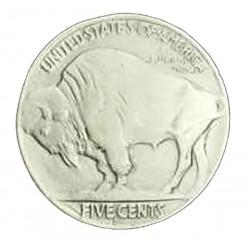 Buffalo Coin Bolo Tie