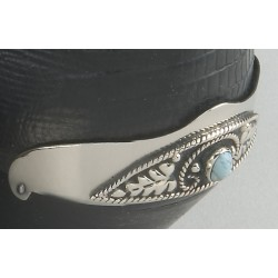Boots protecteurs talons turquois