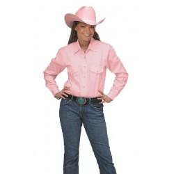 Camisa Vaquera para dama- color rosa