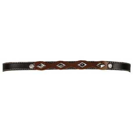 Black & Brown Hatband