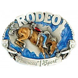 Belt Buckle Rodeo America's N1 Sport