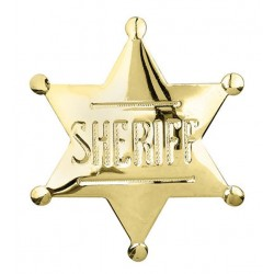 Sheriff Badge pin