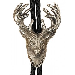 Pewter Stag Bolo Tie