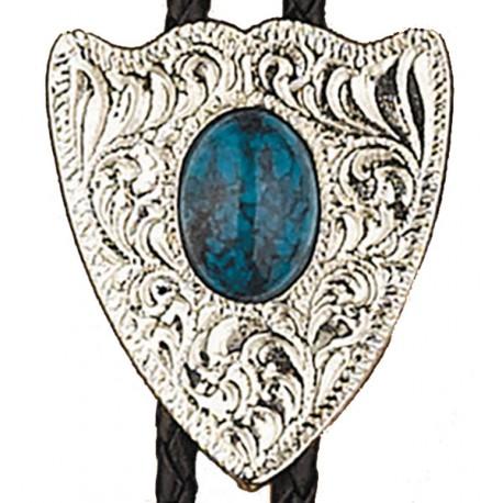 Turquoise Arrowhead Bolo Tie