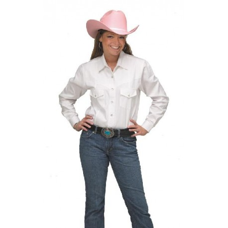 Women's Western Shirt WHITE