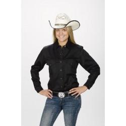 Camisa Vaquera para dama- color negra