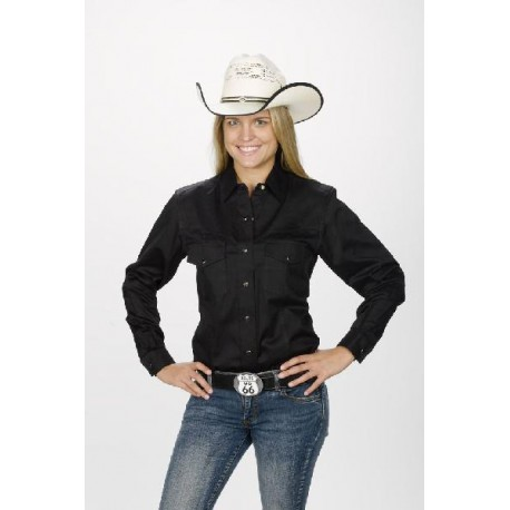 Women's Western Shirt black