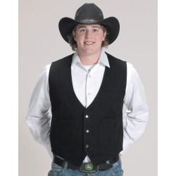 Gilet Cowboy Noir