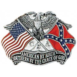 Southern by the Grace of God Buckle