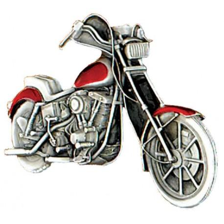 "Motorcycle Belt Buckle 3-1/2 x 2-1/4"""""