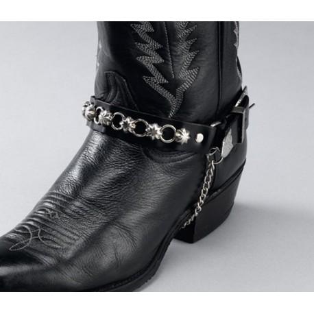 Correas, cadenas para botas