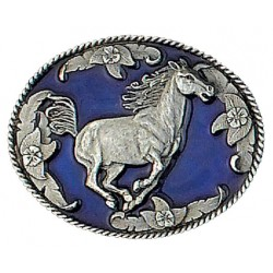 Running Horse Belt Buckle