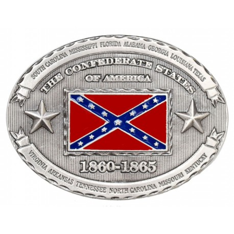 Boucle Confederate States 1860-1865