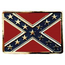 Boucle Ceinture Drapeau Confederate