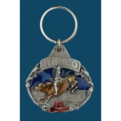 Rodeo Bullrider Key Ring