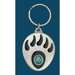 Grizzly Paw Key Ring
