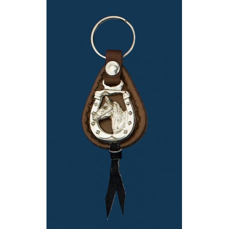 Horsehead Key Ring