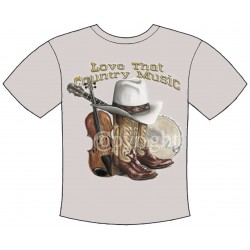 Love That Country Music T-shirt