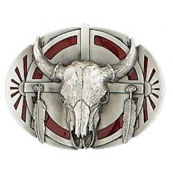 Buffalo Skull boucle